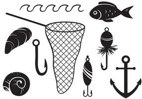 Vettori di pesca gratis