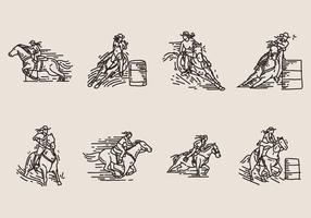 icona di corsa del barilotto