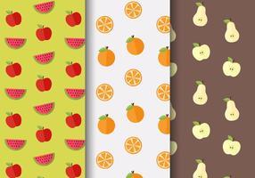 Frutta gratis Vector Pattern