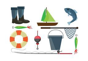 Rete da pesca gratuita vettore