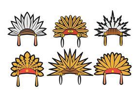 Vettore di copricapo indiano