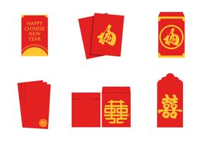 Vettore di pacchetto rosso gratuito