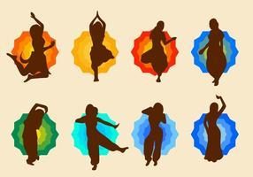 Bollywood Dance Vector gratuito