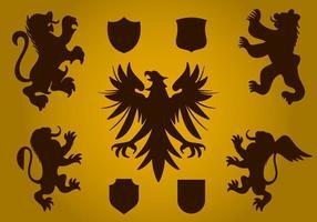 Heraldy Symbol Vector gratuito