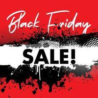 sfondo di vendita venerdì nero grunge