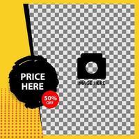 banner di vendita modificabile creativo