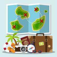 pianificazione del concetto di viaggio