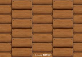 Modello senza cuciture del fondo di vettore delle plance del legno duro