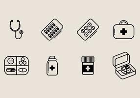 Icona della scatola della pillola