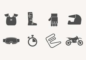 Icona della bici della sporcizia vettore