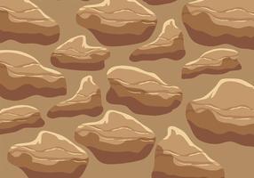 vettore di texturas rock