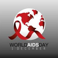 banner per la prevenzione della giornata mondiale contro l'AIDS