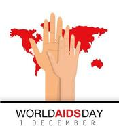 banner della giornata mondiale contro l'AIDS