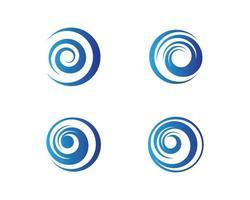 modello di logo del cerchio vettore
