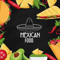 design di cibo messicano