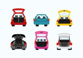 Illustrazione di design piatto vettoriale di carboot
