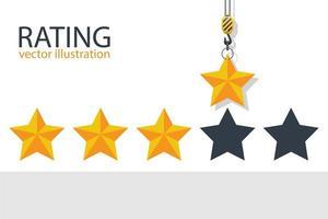 valutazione del gancio della gru 4 stelle