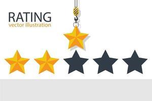 valutazione del gancio della gru 3 stelle