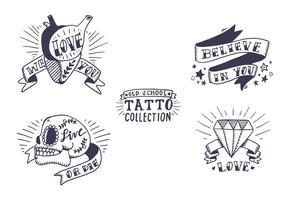 Collezione di tatuaggi Old School