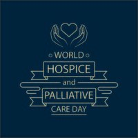 poster della giornata mondiale delle cure palliative e dell'hospice
