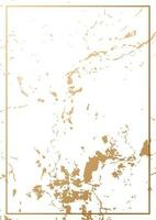 trama di lamina d'oro con carta cornice dorata