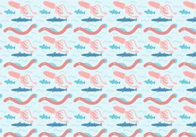 Vettore libero degli animali dell'oceano