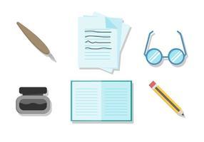 Vettore gratuito degli strumenti di scrittura