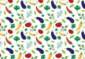 Vettori di modelli di verdure gratis