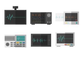 Vettore libero del monitor di cuore