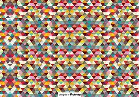 Vector poligonale sfondo colorato