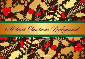 Modello di sfondo Natale vettoriale