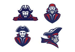 Vettore gratuito di pirati