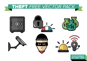 Pacchetto di vettore gratuito di furto