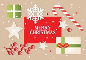 Scatole di Natale vettoriali