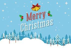 Vector Merry Christmas Background gratuito