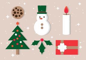 Icone vettoriali gratis di Natale
