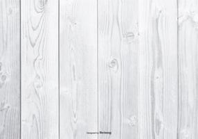 Sfondo di legno bianco vettore
