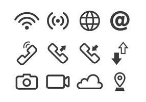 Icona di connessione vettore