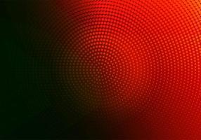 disegno circolare punteggiato rosso e nero astratto