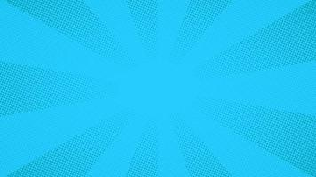 sfondo blu punti mezzatinta comico pop art