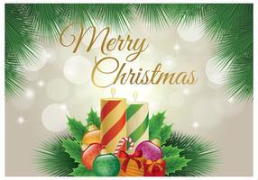 Buon Natale Wallpaper vettore
