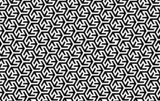 motivo geometrico ad incastro in bianco e nero
