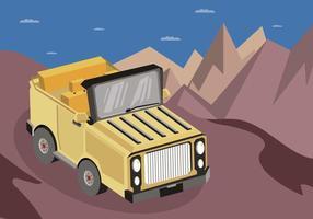 Illustrazione di Jeep gratis vettore