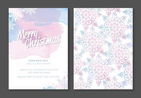Cartolina di Natale vettoriali