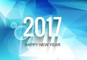 Priorità bassa moderna di vettore nuovo anno 2017 gratis