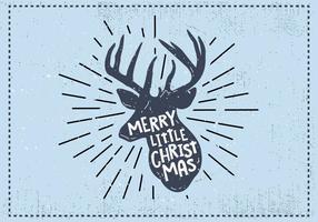 Natale gratis cervi vettoriale