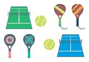Vettore gratuito di Padel Tennis
