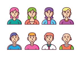 Set di icone avatar gratis