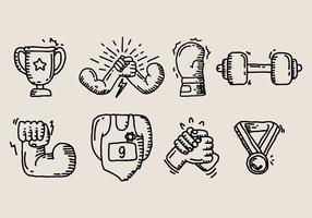 Icona di braccio di ferro
