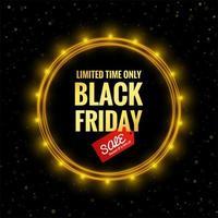 sfondo di poster di vendita venerdì nero